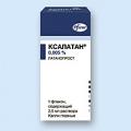 <b>Ксалатан капли глазн 0.005% 2.5мл фл-капелн