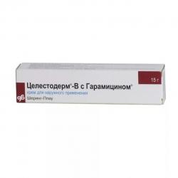 Целестодерм-В с гарамицином крем 15г туба