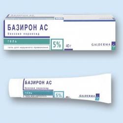 Базирон АС гель наружн 5% 40г туба