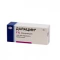 <b>Далацин гель наружн 1% 30г туба