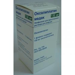 Оксалиплатин Медак лиоф д/инф 150мг фл пач карт